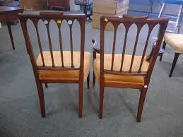 carved mahogany armchair and side chair sale number 2855b lot