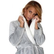 robe de chambre femme polaire robe de chambre microfibre femme