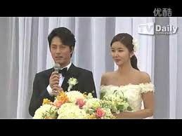 wedding dress asianwiki han jae suk s wedding