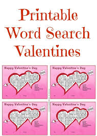 candy s day card printable word search valentines word search and board