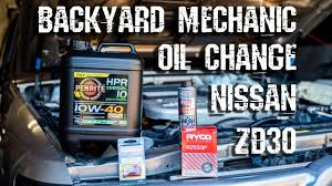 backyard mechanic 09 how to change engine oil youtube