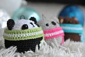 amigurumi teddy ornaments all about ami