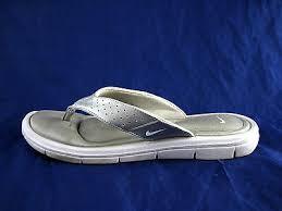 Nike Comfort Footbed Sandals Nike Comfort Footbed Womens Sandals Flip Flops Sz 10 Silver Thongs