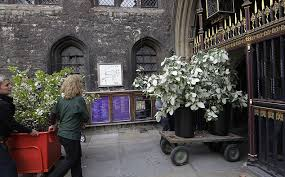 Church Decorations For Wedding Royal Wedding 2011 Westminster Abbey Turned Into A 50k Fairytale