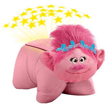 trolls poppy dream lites nightlight pillow pets target