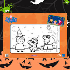 nick jr halloween coloring pages peppa pig printable coloring pages printable coloring pages page