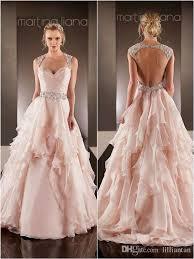 pink wedding dresses uk discount blush pink wedding dresses open back wedding gown beaded