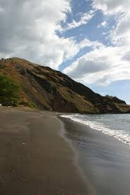 one u0027uli black sand beach maui guidebook