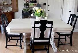 My  Yard Sale Dining Room Table  Chairs Hymns And Verses - Painting dining room chairs
