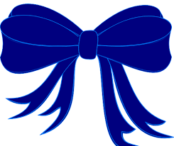 blue bows blue bow ribbon clip at clker vector clip online