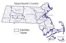 map of massachusetts counties massachusetts towns counties scanner radio frequency selector page