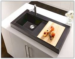 Rv Kitchen Sink Covers by Kitchen Sink Cover Chrome Faucet And Round Drop In Kitchen Sink