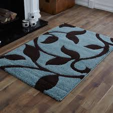 Duck Rugs Quality Small To Extra Large Duck Egg Blue Chocolate Brown Carved