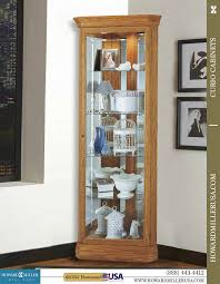 small curio cabinet with glass doors miller small corner display oak curio cabinet 680347 hammond
