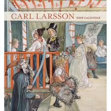 carl larsson 2018 wall calendar 9780764976308 calendars