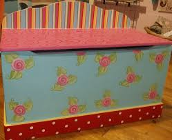 childrens toychest childrens toyboxes handpainted for children