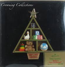 1980 hallmark baby u0027s first christmas ornament 1st shadow