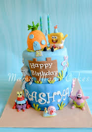 spongebob squarepants cake spongebob squarepants cake made cakes