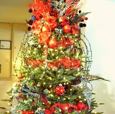 100 kitchen christmas tree ideas red and white decorations