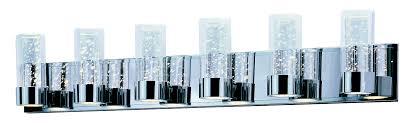 Contemporary Bathroom Vanity Lights by Sync Led 6 Light Vanity Bath Vanity Maxim Lighting