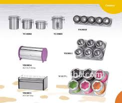 new canister set homeware stainless steel kitchen canister sets