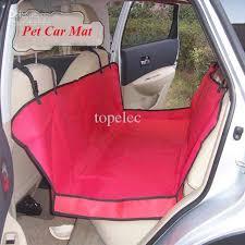 2017 red waterproof oxford seat pet hammock car seat cover mat dog