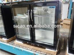 Glass Door Beverage Refrigerator For Home by Glass Door Beer Refrigerator For Corona Beer Transparent Glass