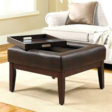 Upholstered Ottoman Coffee Table Ottomans Coffee Table Ottoman Combo Cocktail Ottoman With Shelf
