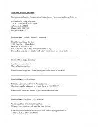 immigration paralegal resume entry description resume server for