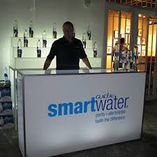 event furniture rental miami branded bar for smartwater ronen rental event decor event