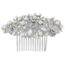 decorative hair combs silver pearl hair comb gold headpiece gold hair comb