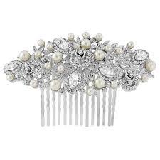 silver pearl hair b rose gold headpiece gold hair b