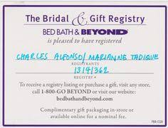 bed and bath wedding registry free wedding invite sles from bed bath beyond wedding freebies