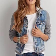 jean sweater jacket eagle hooded denim jacket oasis fashion