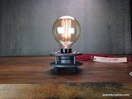 edison bulb table lamp with buy a hand made minimalist bare to and