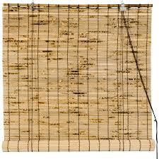 Bamboo Roman Shades Walmart - bamboo roll up blinds walmart com