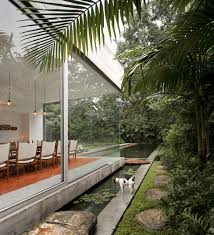 isay weinfeld inside outside dining room design my world