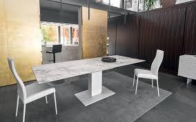 tavoli sala da pranzo calligaris tavolo calligaris echo ceramica vetro bianco tavoli da pranzo