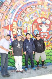 Chicano Park Murals Restoration by Mural Restoration Avenue 50 Studio