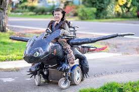 amazing halloween costumes kickstarter project aims to turn wheelchairs into amazing