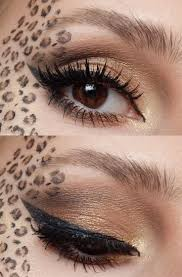 Halloween Devil Eye Makeup The 25 Best Leopard Makeup Ideas On Pinterest Leopard Costume