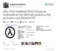 Half Life 3 Confirmed Meme - valve registers trademark for half life 3 eurogamer net