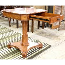 tommy bahama pedestal end table upscale consignment