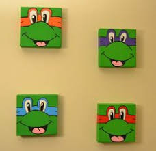 Ninja Turtle Wall Decor Teenage Mutant Ninja Turtles Wall Art Turtle By Palletsandpaint