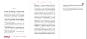 what is abstract in thesis given template how to add roman page number to abstract footer enter image description here