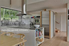 island extractor fans for kitchens modern island kitchen with stainless steel extractor fan and view to