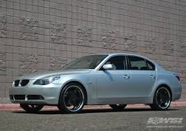 black rims for bmw 5 series 2005 bmw 5 series with 20 mkw m50 in black gloss wheels wheel
