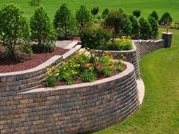 retaining walls frederick block brick u0026 stone