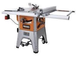 ridgid 13 10 in professional table saw factory reconditioned ridgid zrr4512 10 inch 13 amp professional