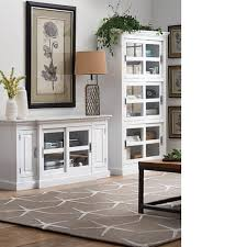 Glass Bookcase With Doors Home Decorators Collection White Glass Door Bookcase